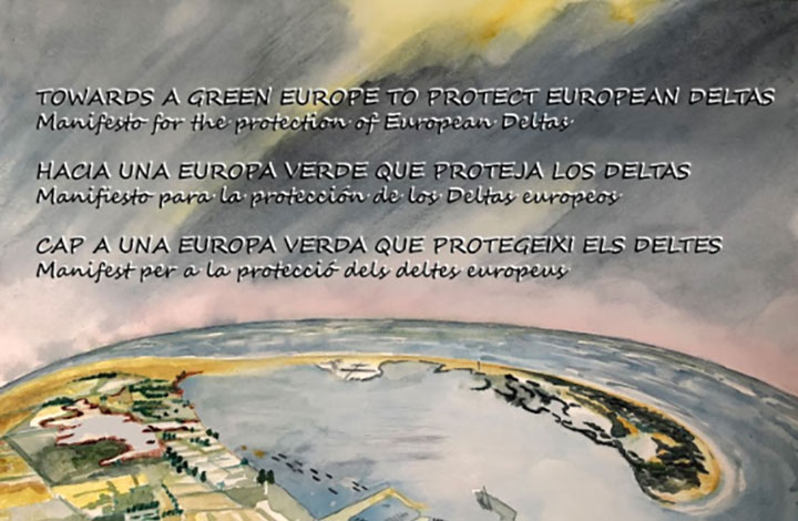 SAVEMEDCOASTS-2 signed a Manifesto to protect European deltas